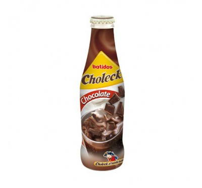 Batido chocolate choleck 20 cl cristal